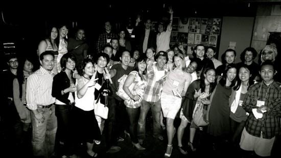 Group photo at Caffe Vita courtesy of Daniel Pak