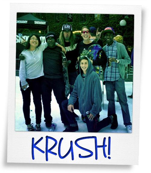 Krush is Killin it!