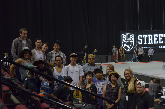 tSB at Street League 2013