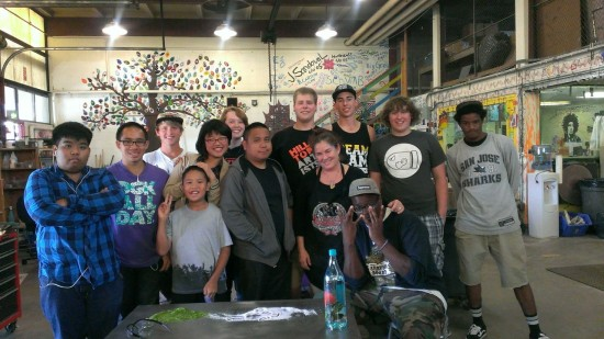 Summer Progra | Glass Blowing Group Photo