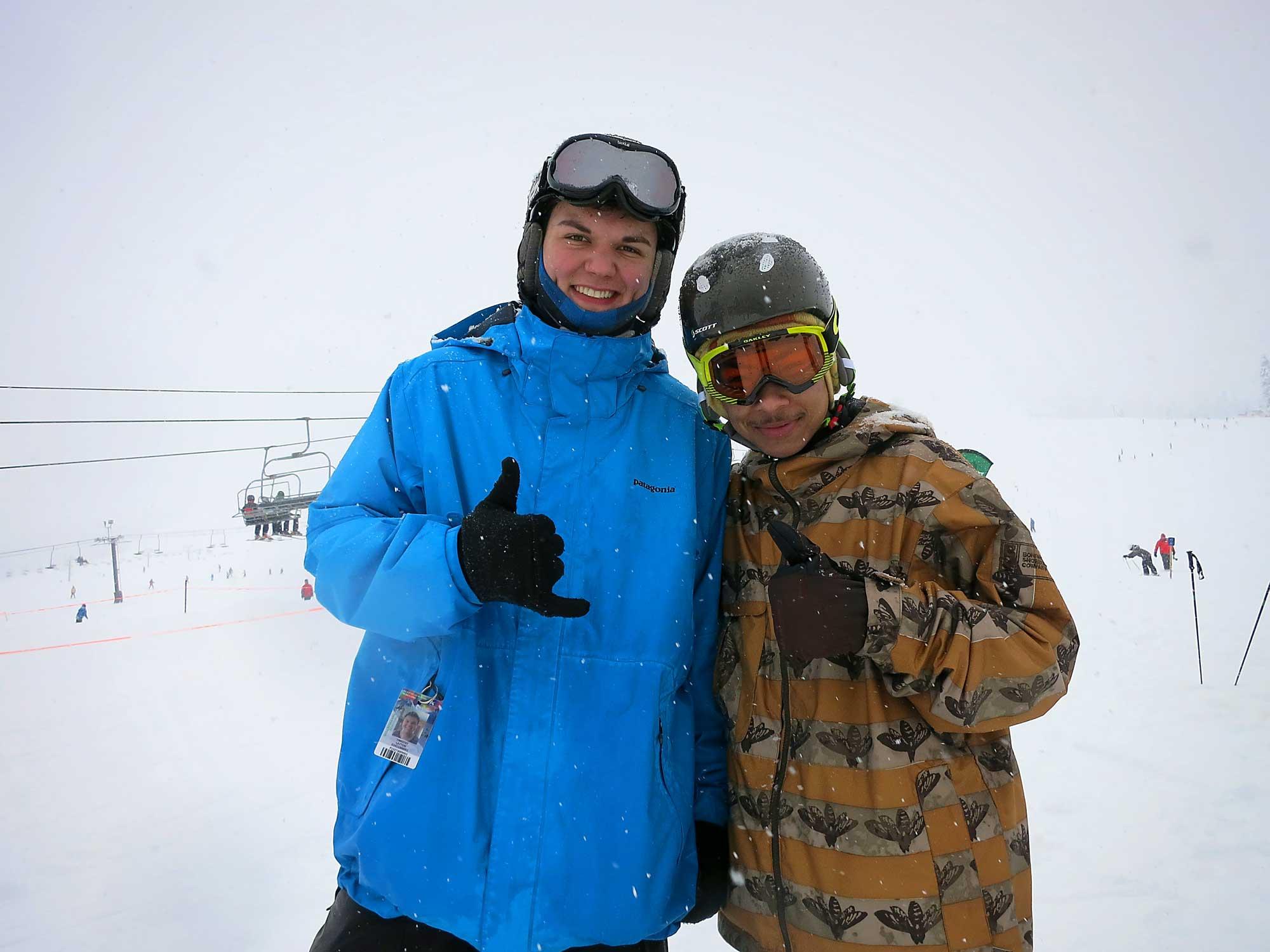 Tim Layton Shines as tSB Snowboard Instructor!