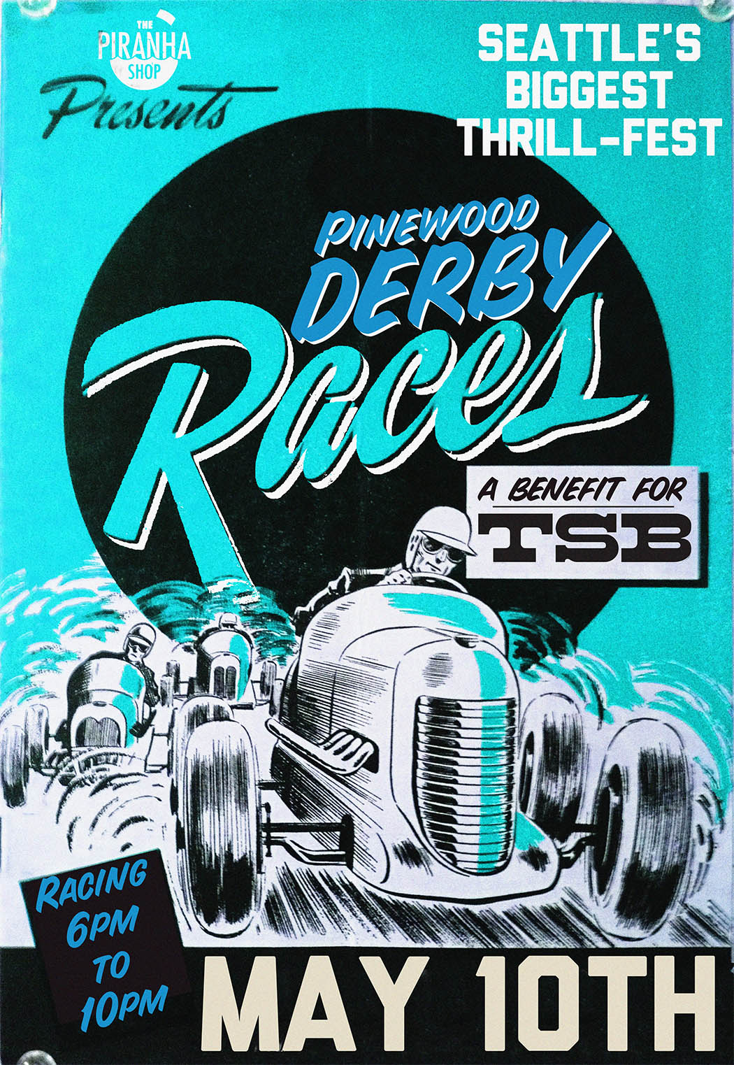 Pinewood Derby   May 10th