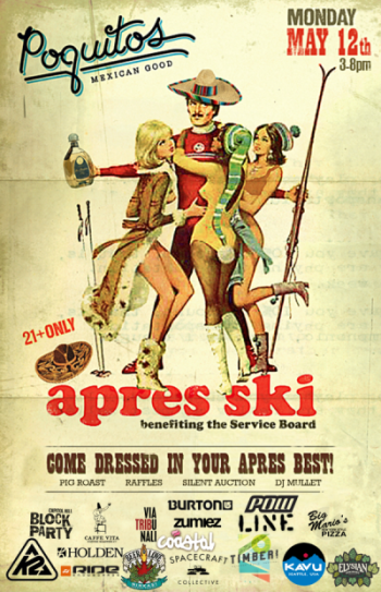 Poquiots Apres Ski for tSB | May 12, 2014