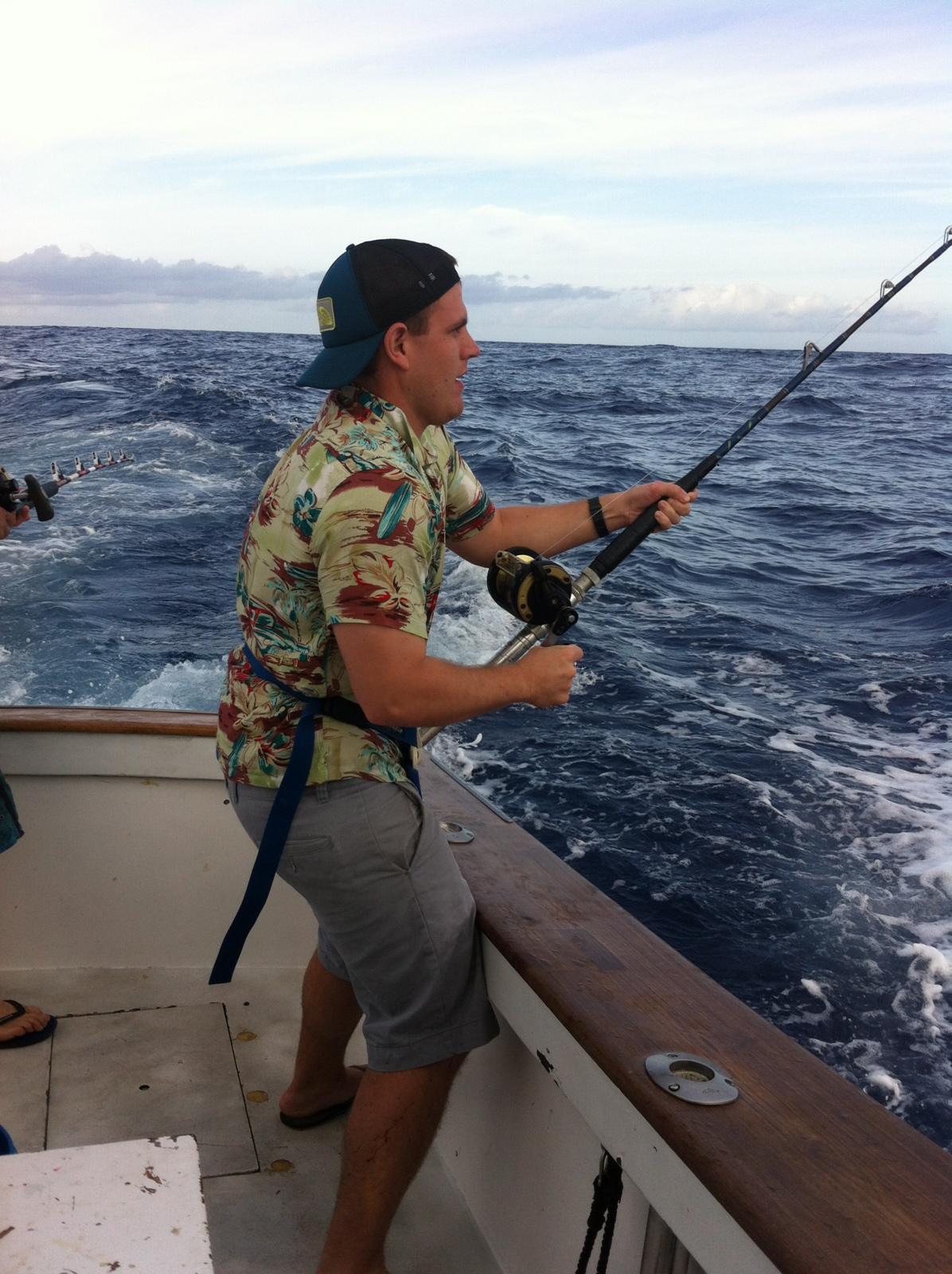 Seth Caudill fishing